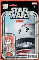 Star Wars #13 - Christopher Action Figure (R5-D4) Variant Cover